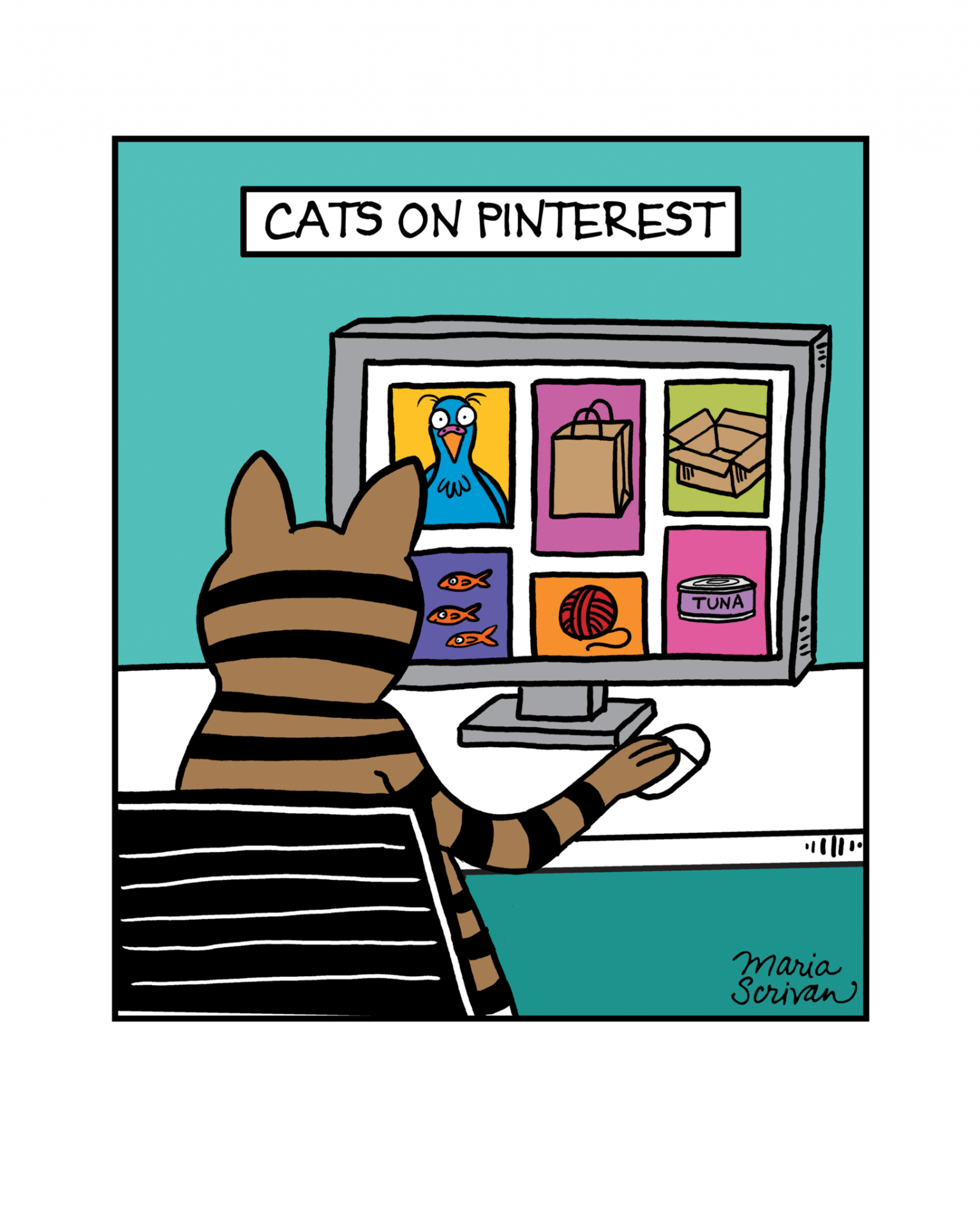 Cats on Pinterest Print.png