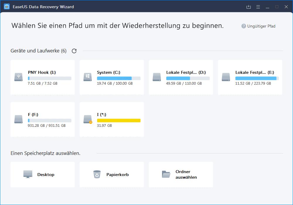 EaseUS Data Recovery Wizard für Windows 10 - Lohnt sich die Software wirklich zur Datenrettung 2.png
