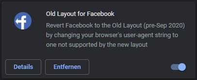 Facebook Altes Design