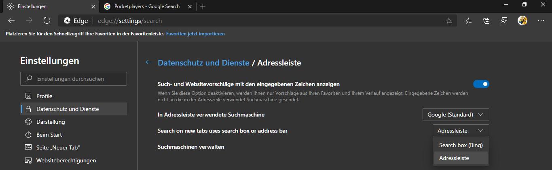 Microsoft,Edge,Chromium,Browser,Suchmaschine in neuem Tab ändern,In neuem Tab Suchmaschine änd...png