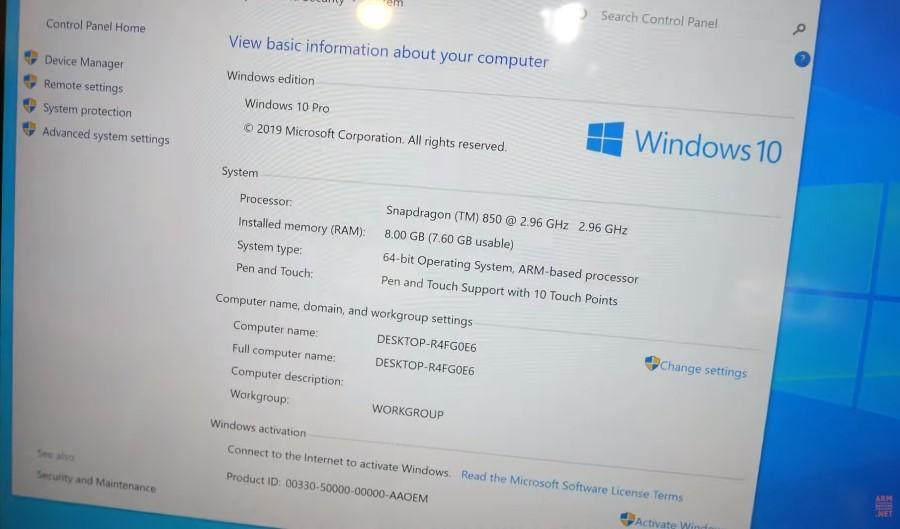 Windows 10 on ARM,Windows 10 auf ARM,Pipo Tablet mit Qualcomm Snapdragon 850 CPU,Surface Clone...jpg
