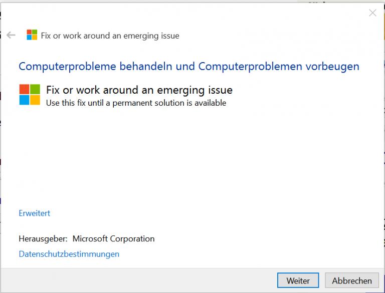 Kann Downloads Nicht öffnen