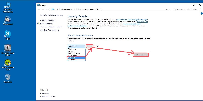 Windows 10 So Lässt Sich Die Schriftgröße Der