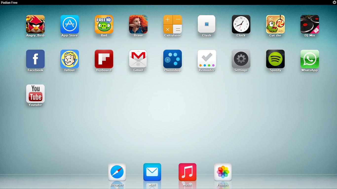 iOS Apps mit iOS Emulator iPadian unter Windows 10