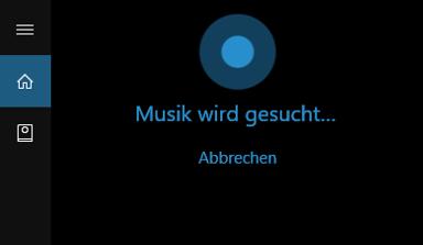 Cortana Musik Erkennen