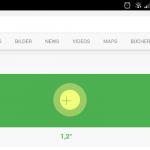 Google-Websuche als Wasserwaage nutzen - so gehts auch mit Windows-Smartphones