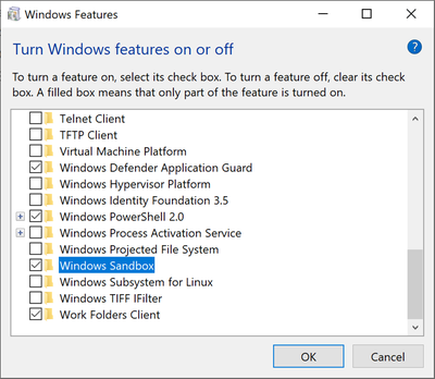 Windows-10ProEnterpriseBuild-18305Sandboxsichere-Umgebungsichere-SandboxSanbox-nutenSand.png