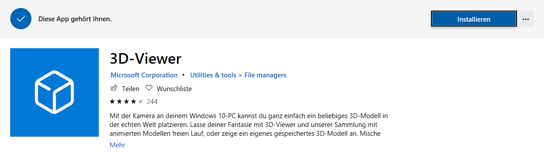 MicrosoftOfficeStore3D-Viewerlöschenentfernendeinstallierenremoveneuinstallieren3D-View-2.png