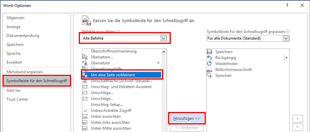 MicrosoftWordDokumentSeite-kürzenSeite-anpassenAusdruckMenübandSymbolleisteMenü-BandDru.png