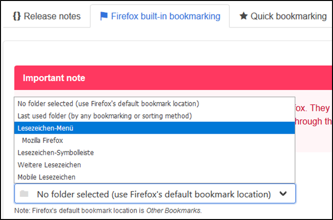 MozillaBrowserFirefoxOrdnerStandardStandardordnerStandardortLesezeichenBookmarksWeitere-2.png