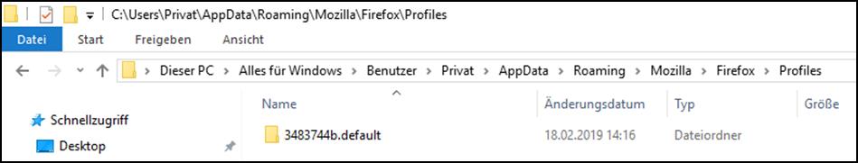 MozillaFirefoxBrowseruserChrome.cssuserContent.cssFileFilesDateiDateienStylishVeränder.png