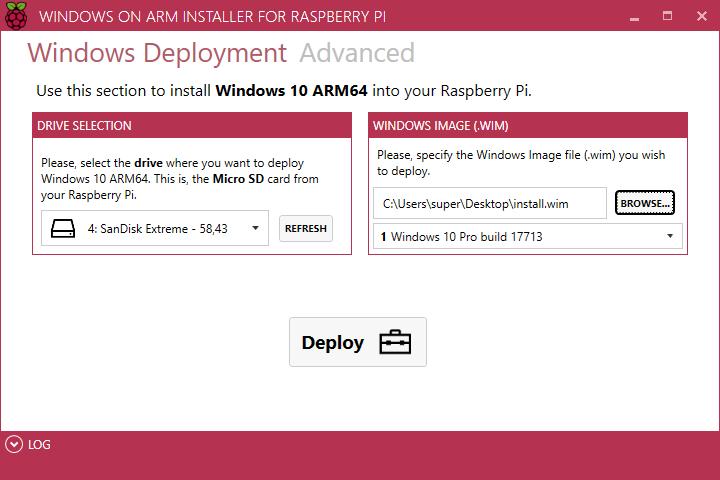 RaspberryPiWindows10onARMWindows10aufARM3B3BWoAInstallerCorePackageImageFiles-2.png