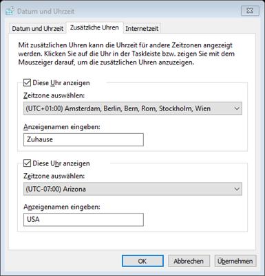 Windows-10ZeitzoneZeitzonenUhrzeitändernzwei-Zeitzonen-nutzenzwei-Zeitzonen-anzeigenZwei-1-1.png