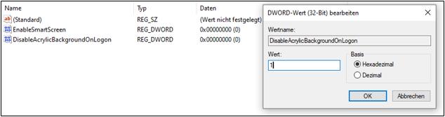 Windows-10Version-1903Windows-10-1903AnmeldebildschirmAnmeldungLoginLogin-ScreenBlur-EffektUnscharfVerschwommenUnschärfeeffektBokeh-EffektentfernendeaktivierenRegistryEditor-3.png