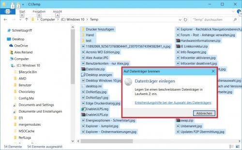 Windows 10 - Senden an - Brenner.jpg