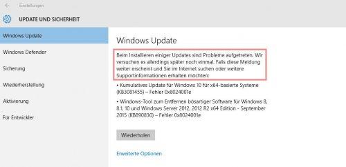Windows 10 Update Fehler 9.9.2015.jpg