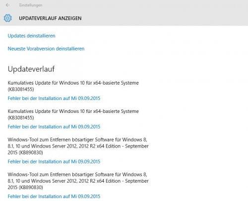 Windows 10 Update Fehler-3- Verlauf 9.9.2015.jpg