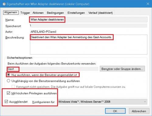 Aufgabenplanung - Wlan Adapter deaktivieren - Allgemein.jpg
