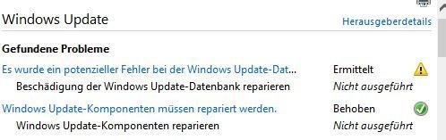 2018-08 Kumulatives Update08-2018 für Windows 10 lässt sich nicht