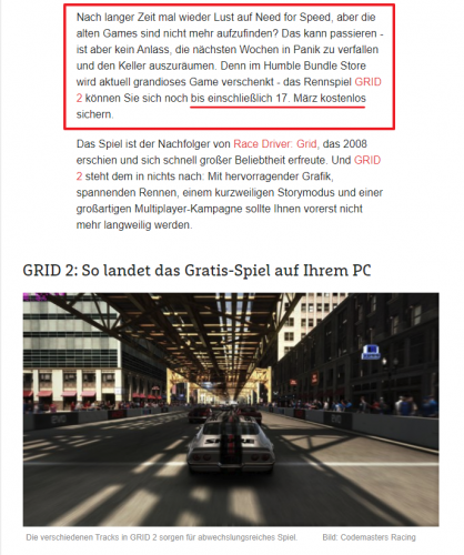 Humble Bundle verschenkt GRID 2.png