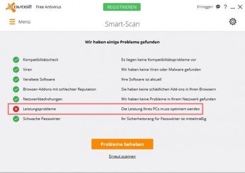 Avast - Smart Scan - Leistungsprobleme.jpg