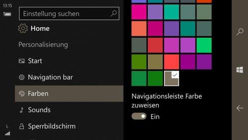 Lumia 950 XL - Einstellungen - Personalisierung - Farben.jpg