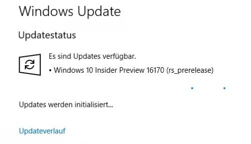 Windows 10 Insider 16170 previewrelease Updates werden initalisiert  09.04.jpg